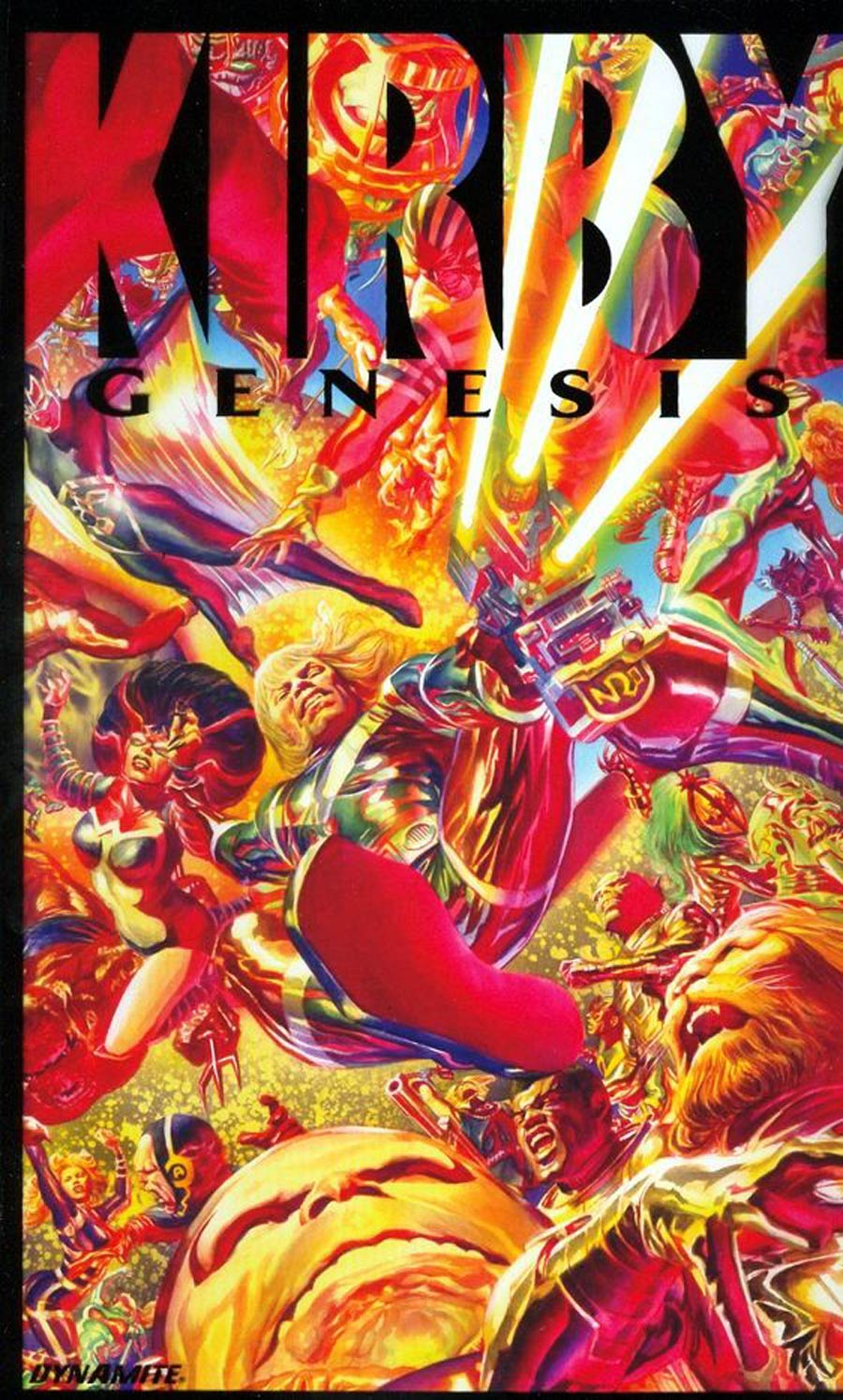 Kirby Genesis #1 Cover G Incentive Alex Ross Marvelous Acetate Cover