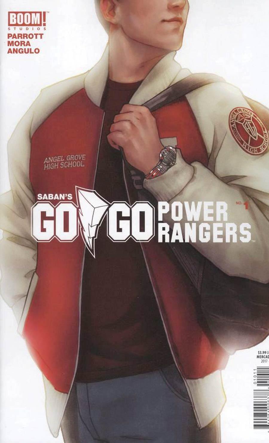 Sabans Go Go Power Rangers #1 Cover K Miguel Mercado Variant Cover
