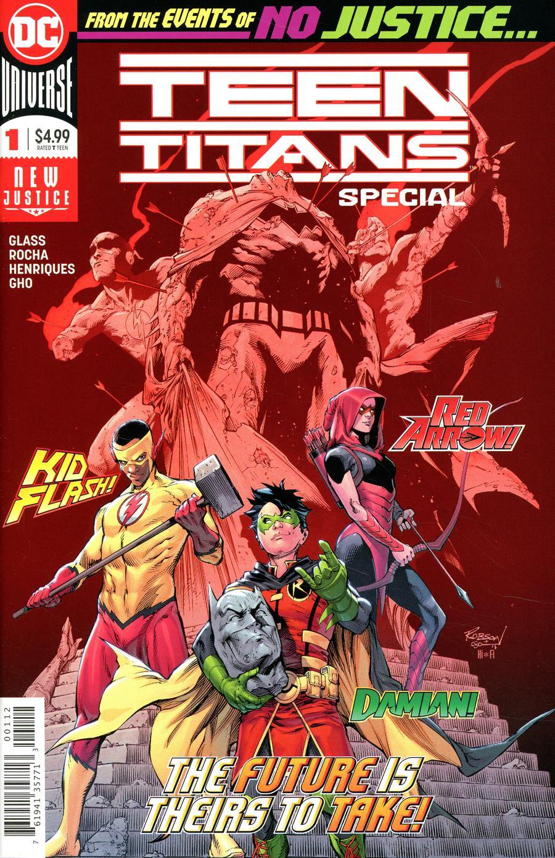Teen Titans Special #1 Cover B 2nd Ptg Variant Robson Rocha & Trevor Scott Cover