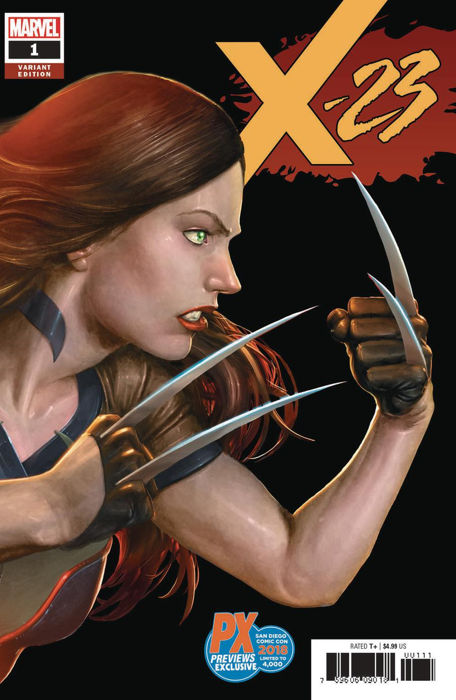X-23 Vol 3 #1 Cover G Variant SDCC 2018 Exclusive Cover
