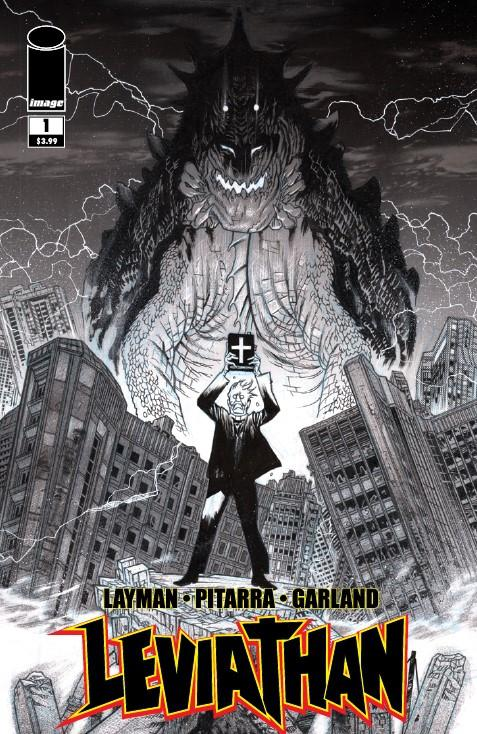 Leviathan #1 Cover D Incentive James Harren Black & White Cover
