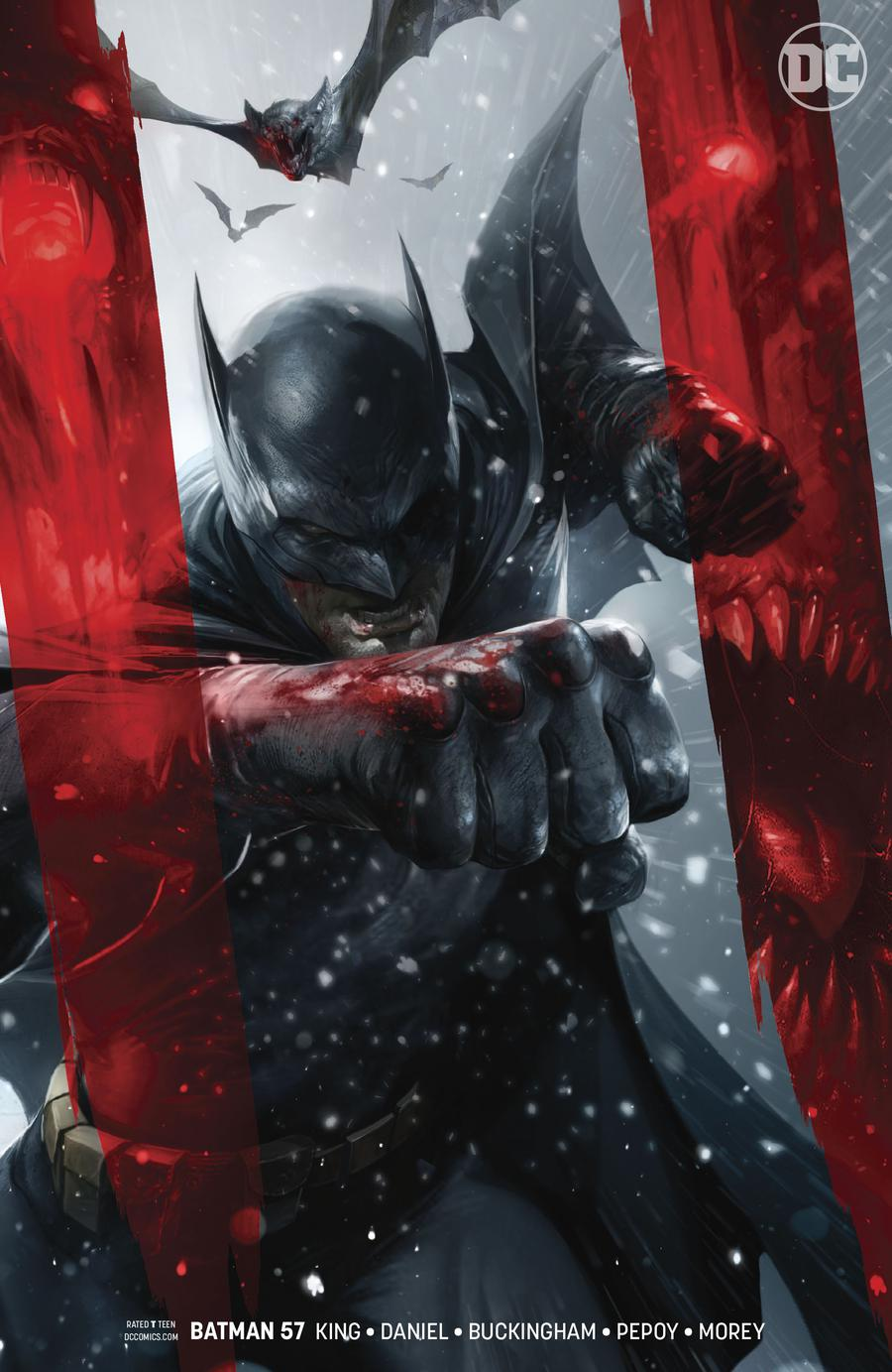 Batman Vol 3 #57 Cover B Variant Francesco Mattina Cover