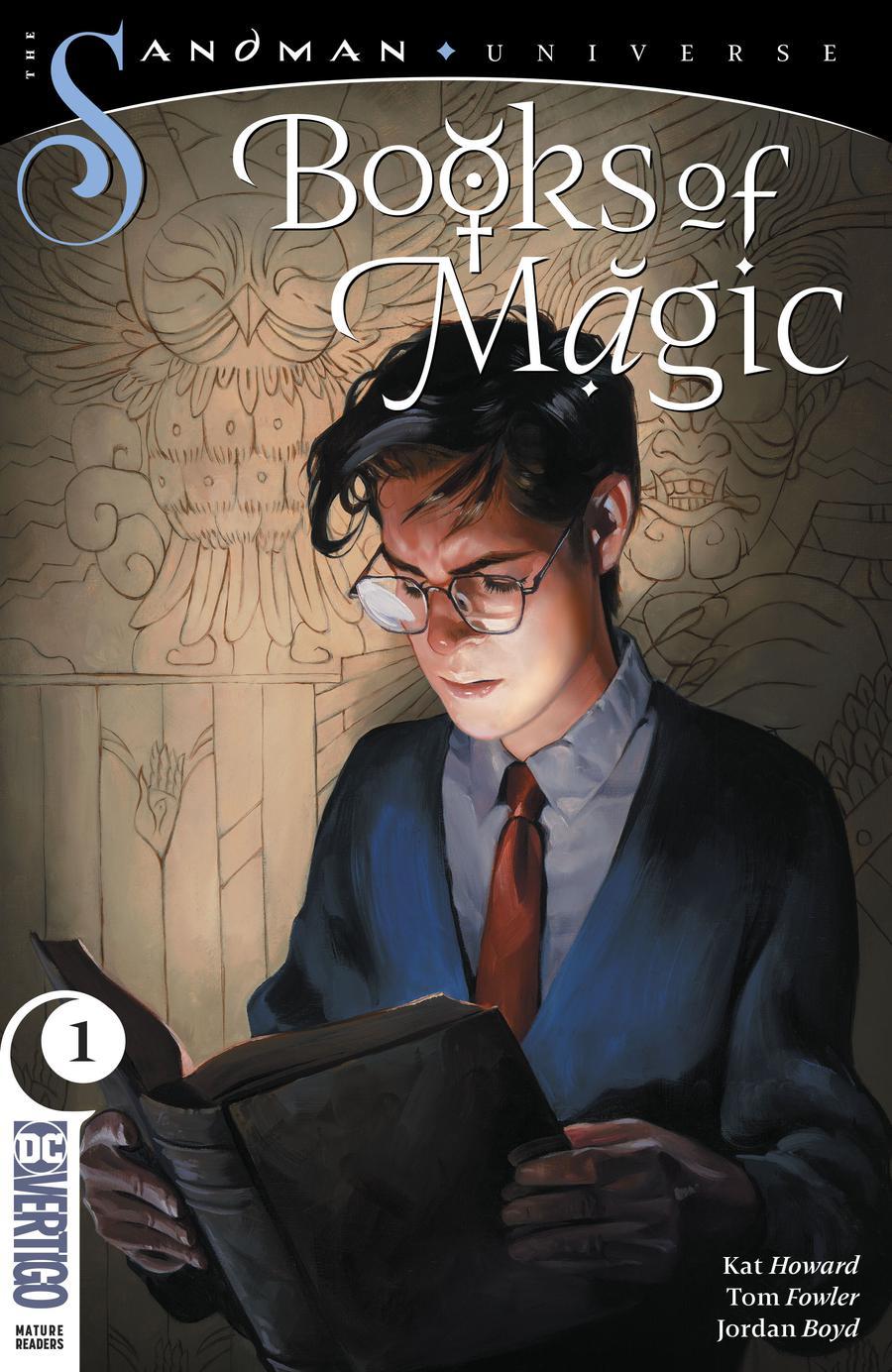 Books Of Magic Vol 3 #1 Cover A Regular Kai Carpenter Cover