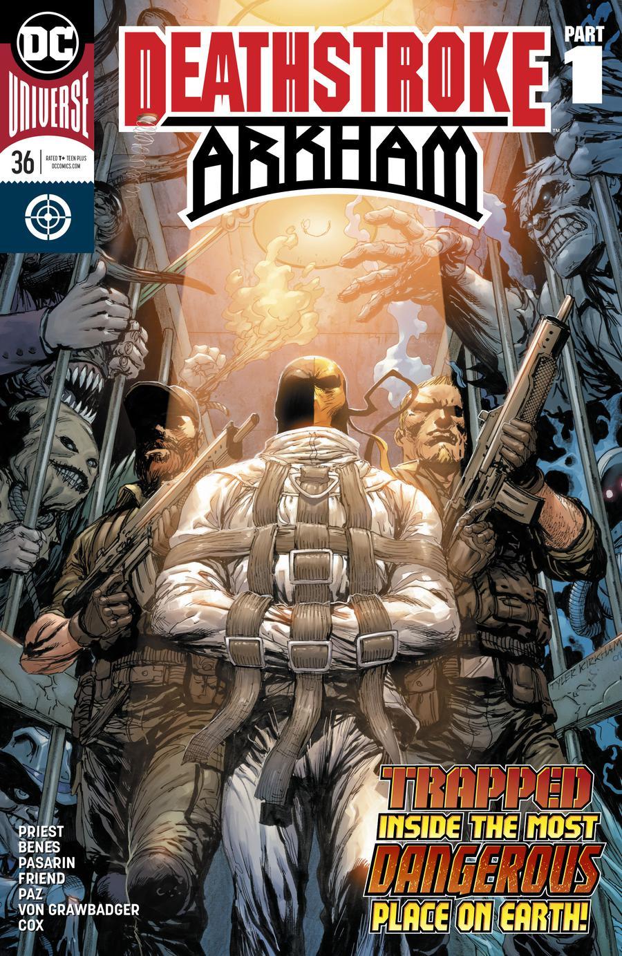 Deathstroke Vol 4 #36 Cover A Regular Tyler Kirkham Cover