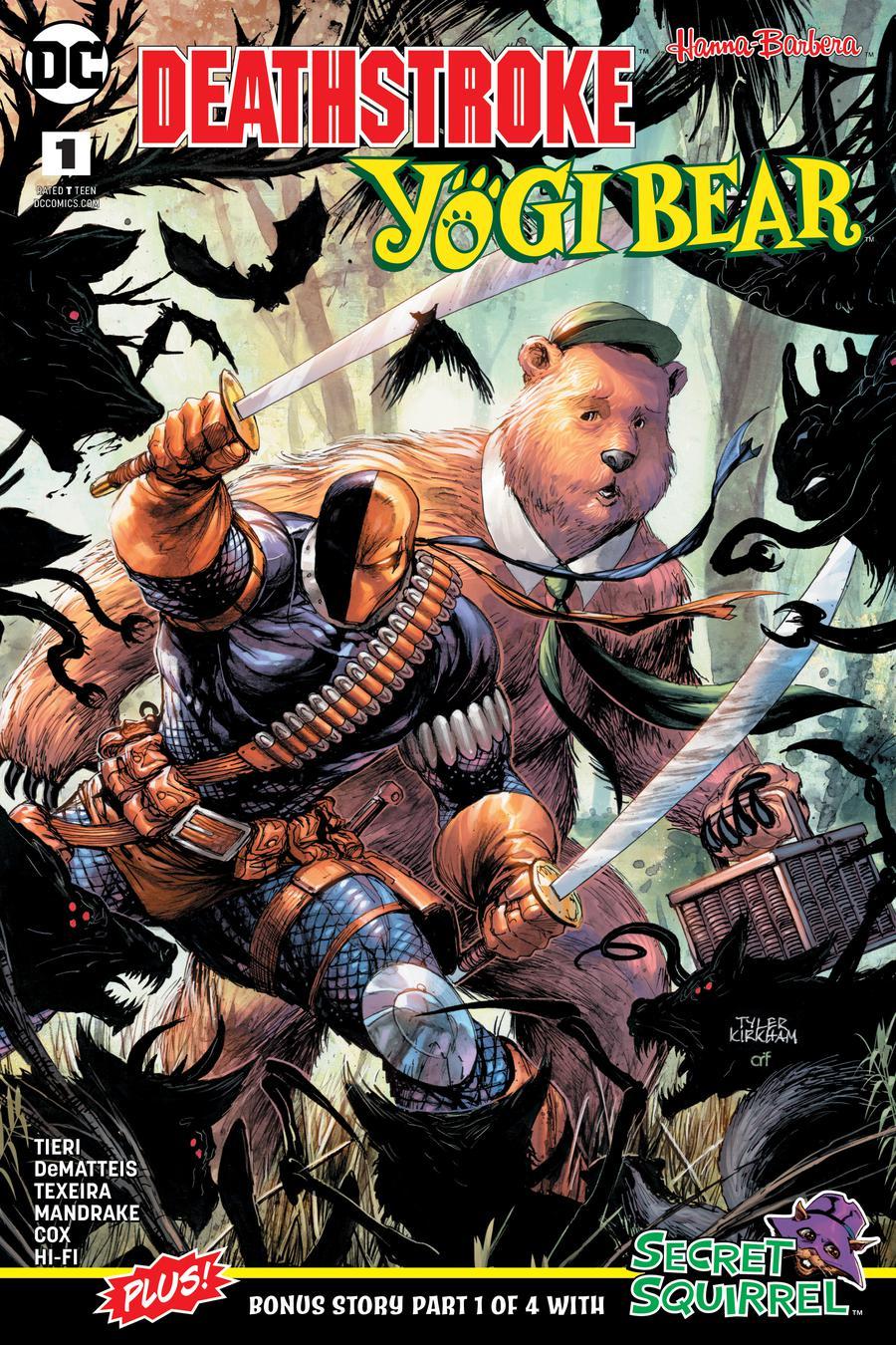 Deathstroke Yogi Bear Special #1 Cover A Regular Tyler Kirkham Cover