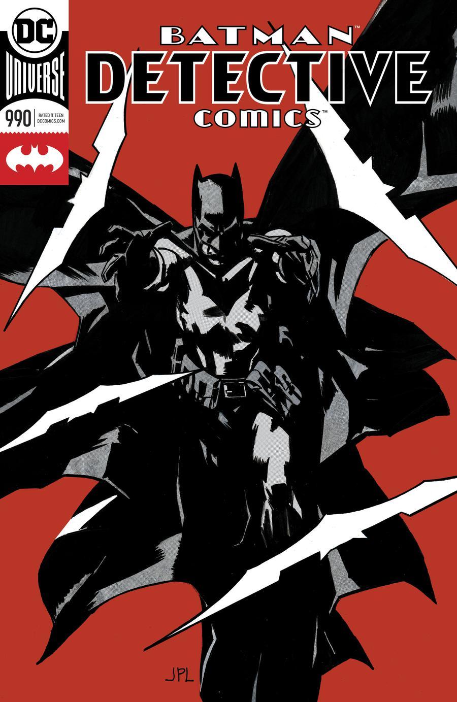 Detective Comics Vol 2 #990 Cover A Regular John Paul Leon Enhanced Foil Cover