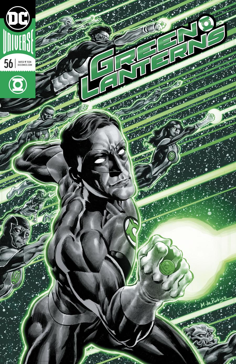 Green Lanterns #56 Cover A Regular Mike Perkins Enhanced Foil Cover