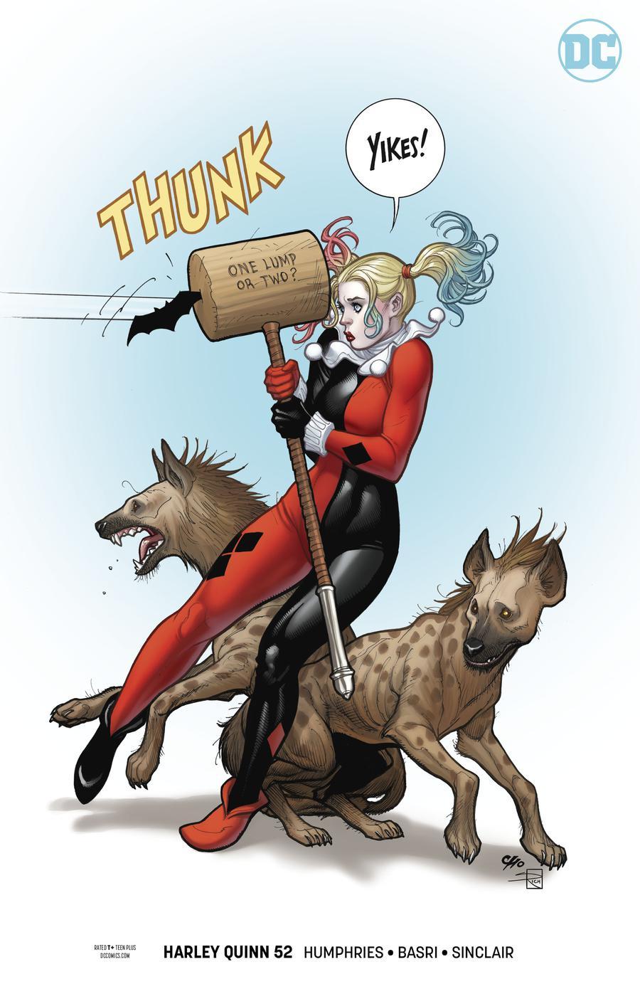 Harley Quinn Vol 3 #52 Cover B Variant Frank Cho Cover