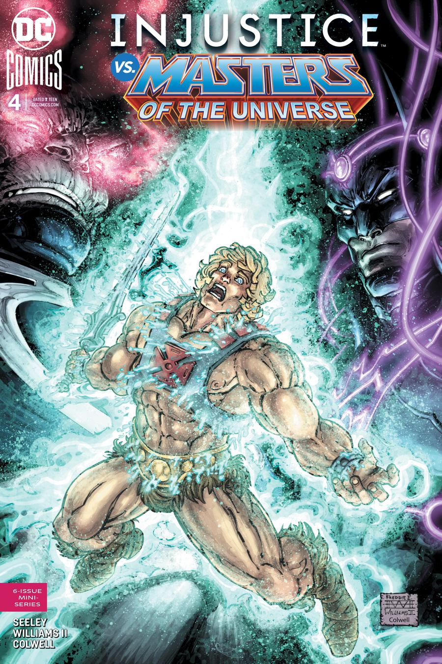 Injustice vs The Masters Of The Universe #4