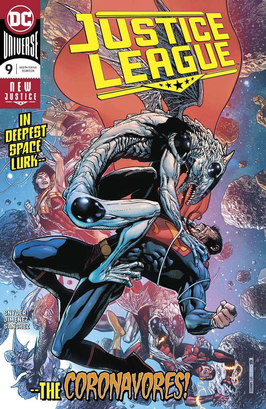 Justice League Vol 4 #9 Cover A Regular Jorge Jimenez Cover
