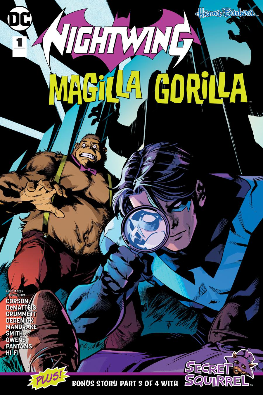 Nightwing Magilla Gorilla Special #1 Cover A Regular Marcus To Cover