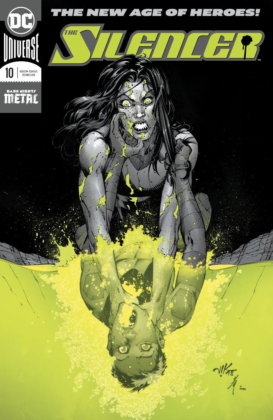 Silencer #10 Enhanced Foil Cover