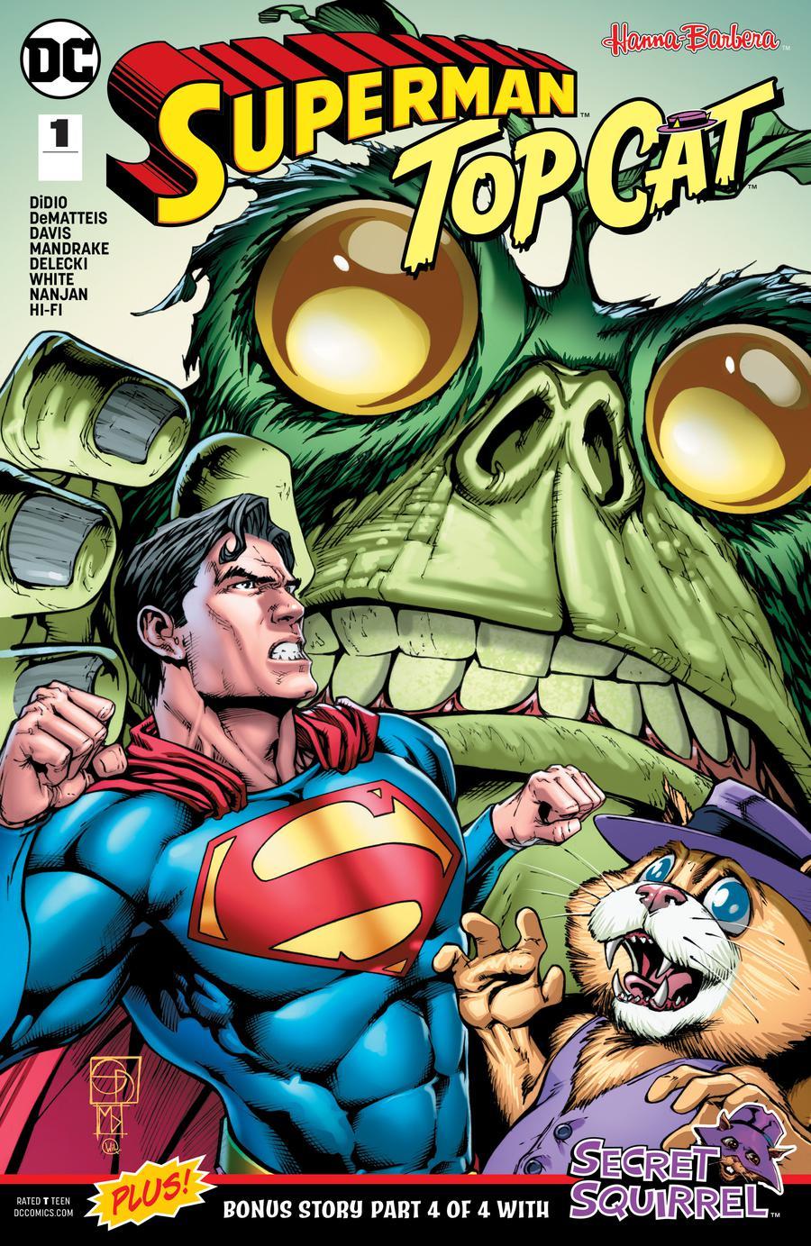 Superman Top Cat Special #1 Cover A Regular Shane Davis Cover