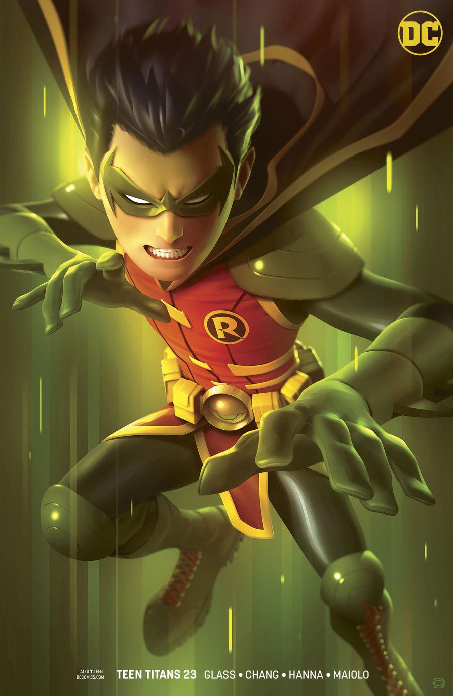 Teen Titans Vol 6 #23 Cover B Variant Alex Garner Cover