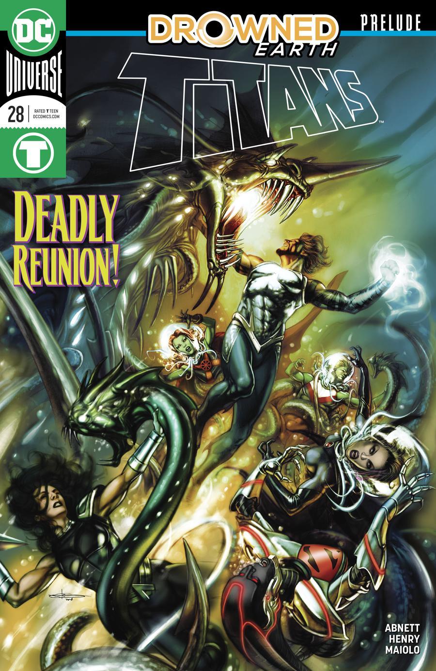 Titans Vol 3 #28 Cover A Regular Leonardo Manco Cover (Drowned Earth Prelude)