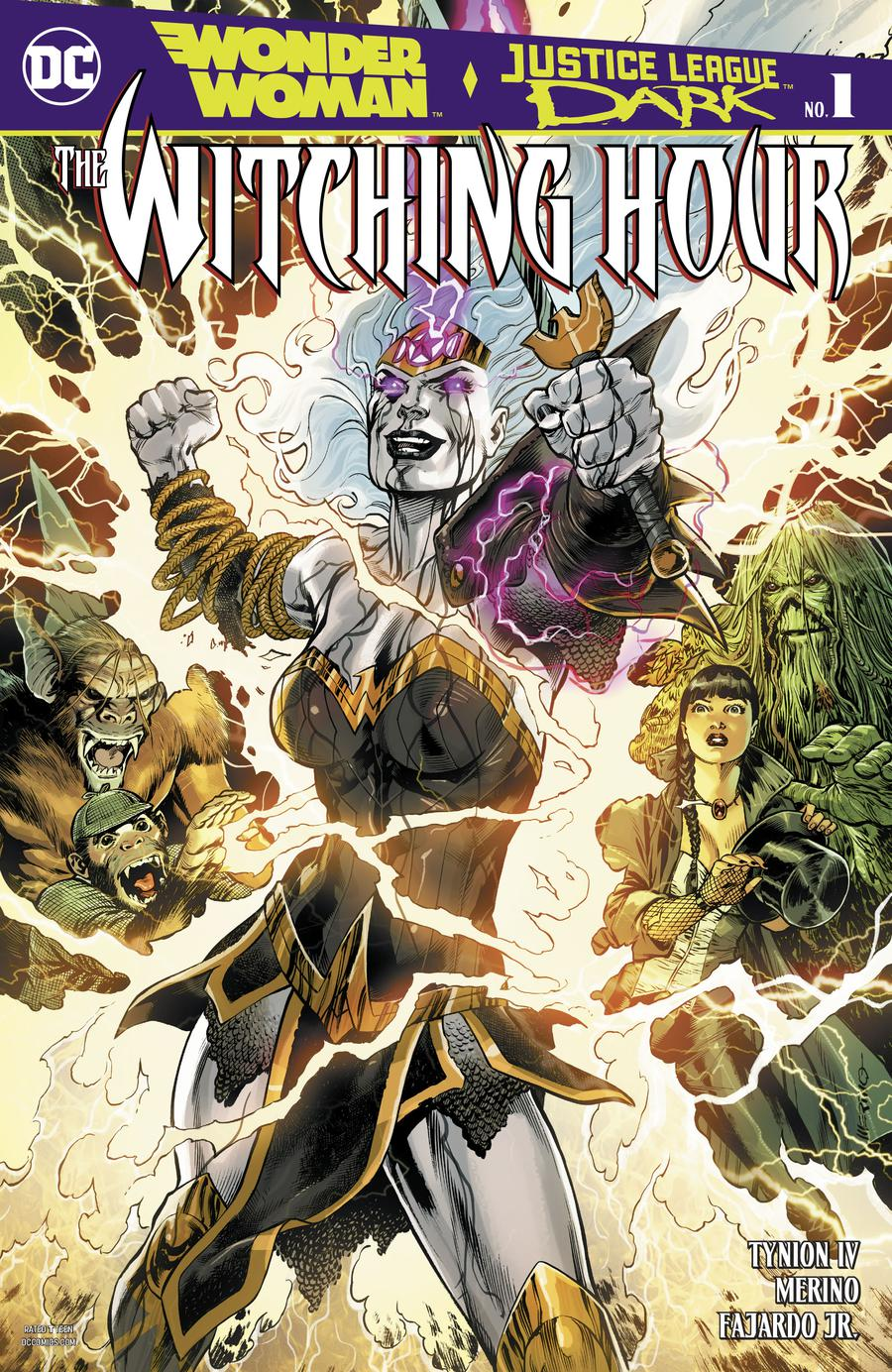 Wonder Woman And Justice League Dark Witching Hour #1 Cover A Regular Jesus Merino Cover (Witching Hour Part 1)