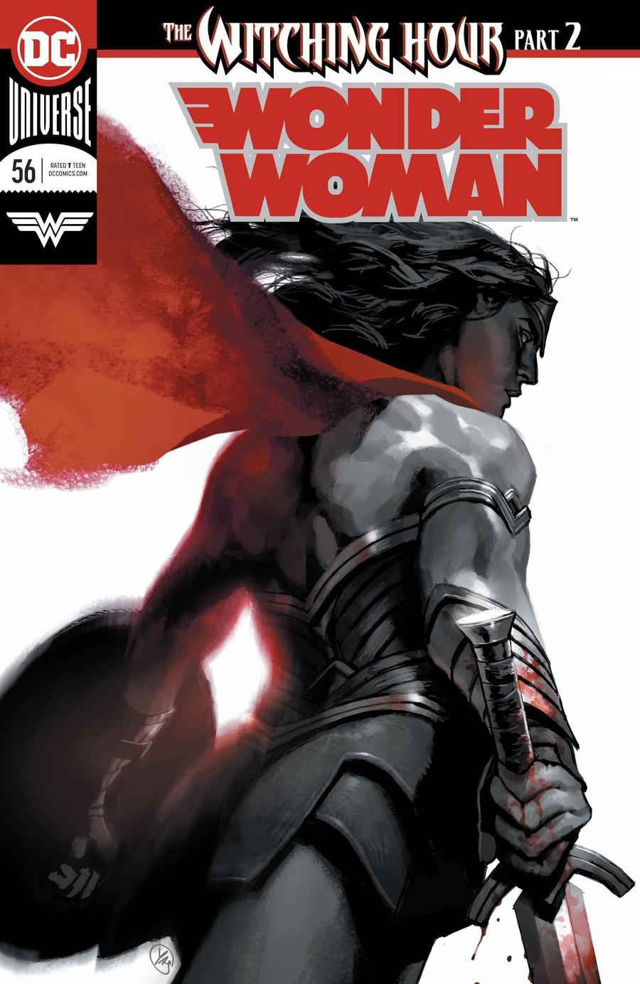 Wonder Woman Vol 5 #56 Cover A Regular Yasmine Putri Enhanced Foil Cover (Witching Hour Part 2)