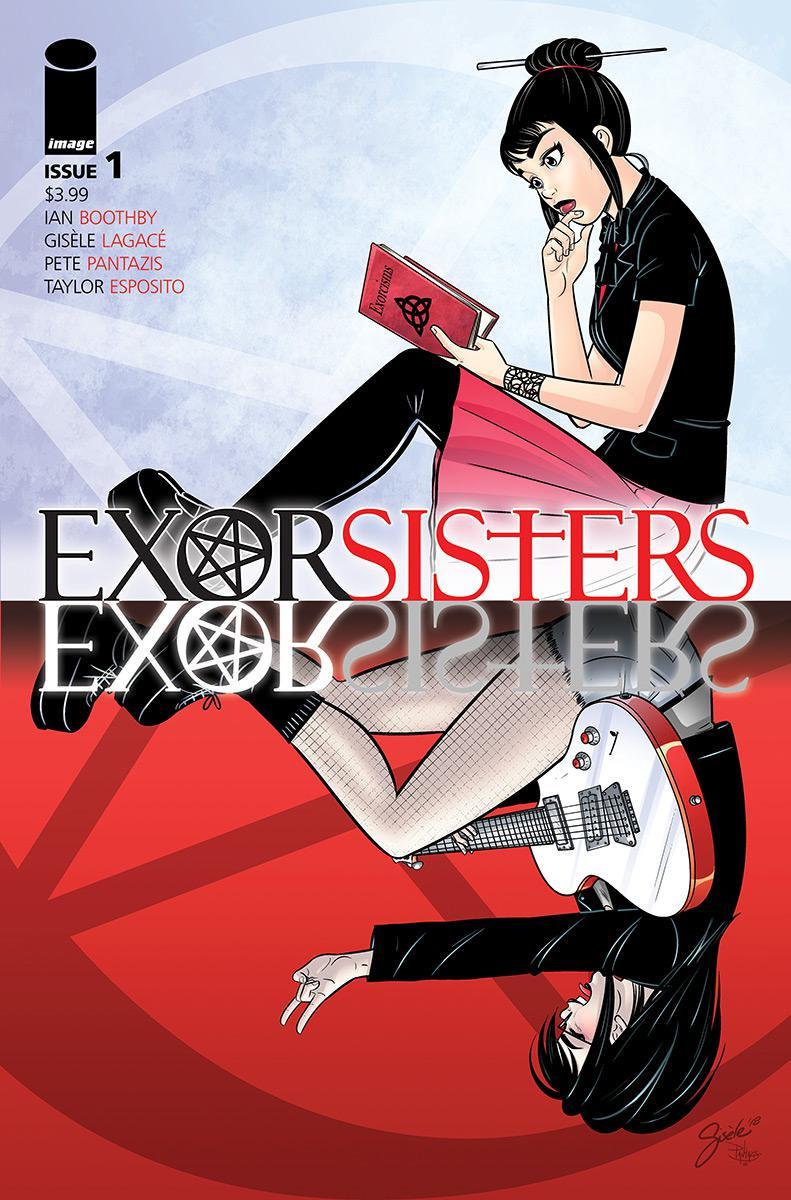 Exorsisters #1 Cover A Regular Gisele Lagace Cover