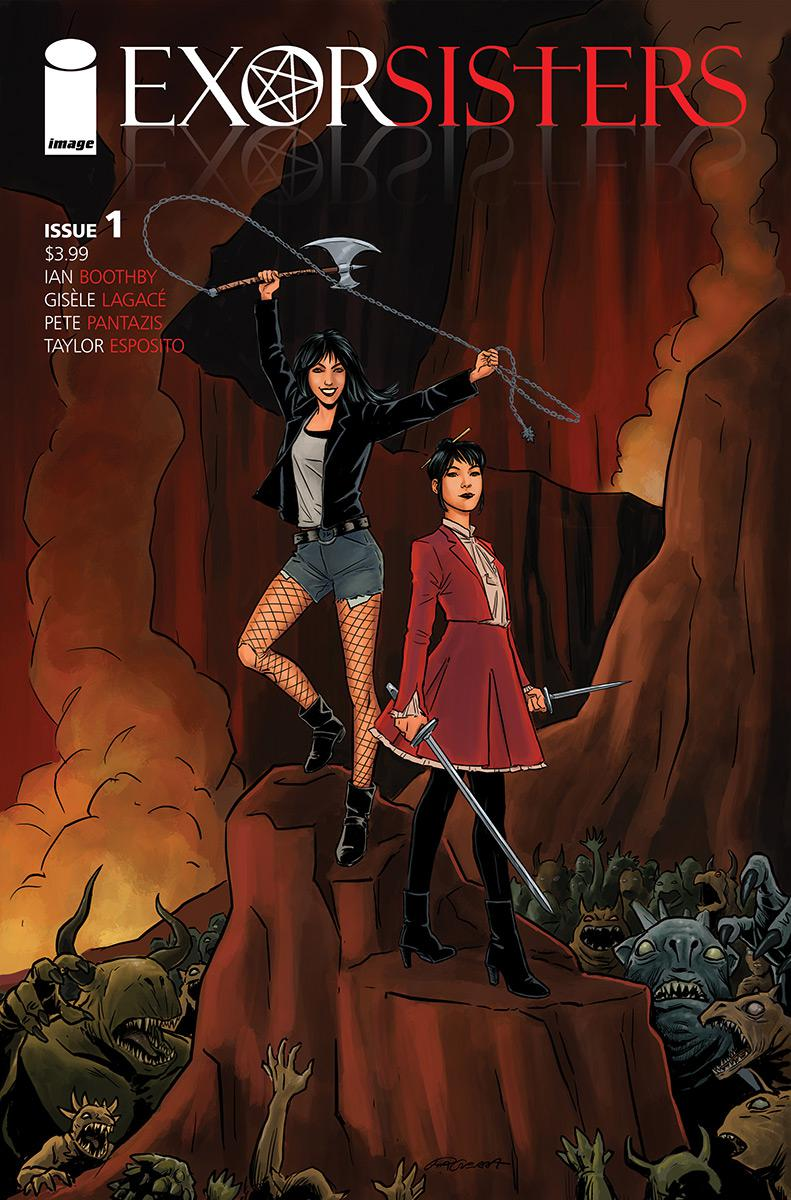 Exorsisters #1 Cover B Variant Pia Guerra Cover