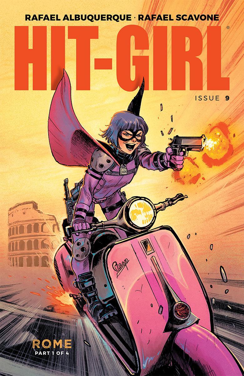 Hit-Girl Vol 2 #9 Cover A Regular Rafael Albuquerque Color Cover