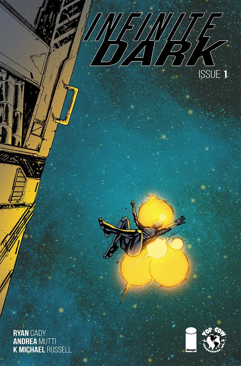 Infinite Dark #1 Cover A Regular Andrea Mutti Cover