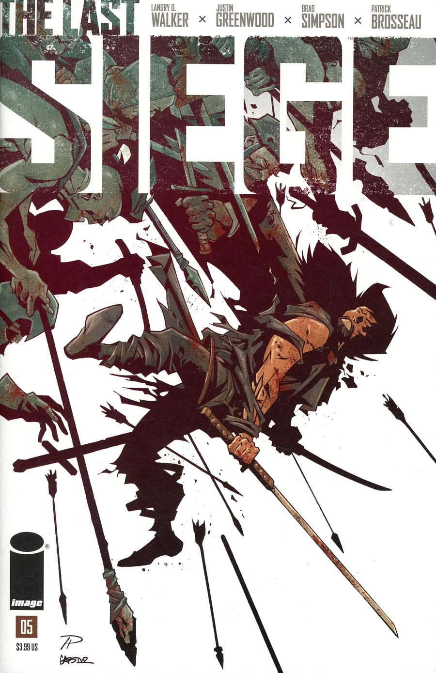 Last Siege #5 Cover B Variant Phil Hester Cover