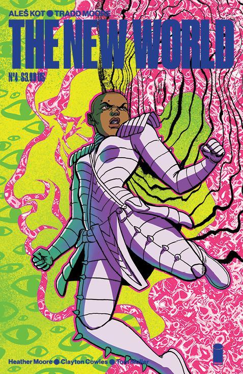 New World #4 Cover C Variant Sloane Leong Cover