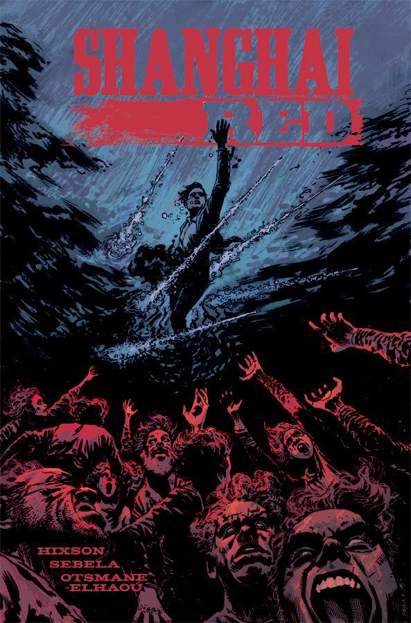 Shanghai Red #5 Cover B Variant Adam Gorham Cover