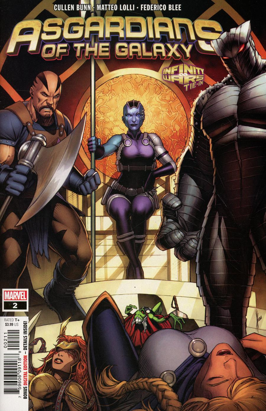 Asgardians Of The Galaxy #2 Cover A 1st Ptg Regular Dale Keown Cover