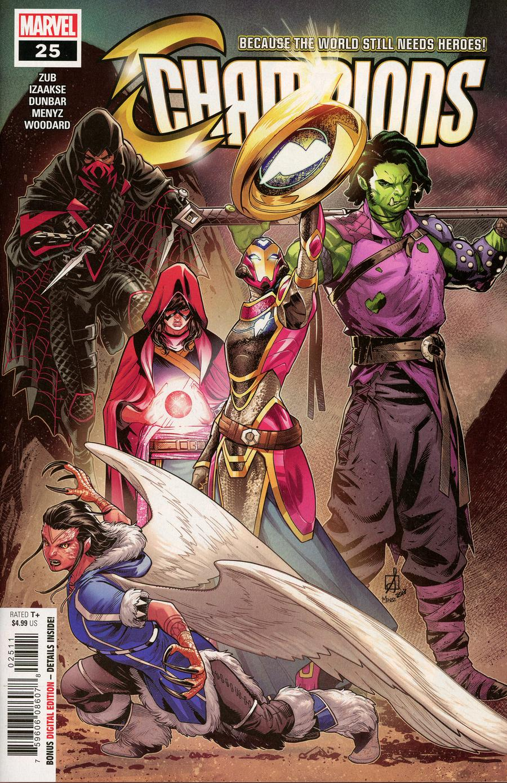 Champions (Marvel) Vol 2 #25 Cover A Regular Sean Izaakse Cover