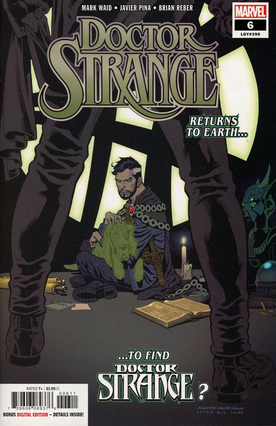 Doctor Strange Vol 5 #6 Cover A Regular Kevin Nowlan Cover