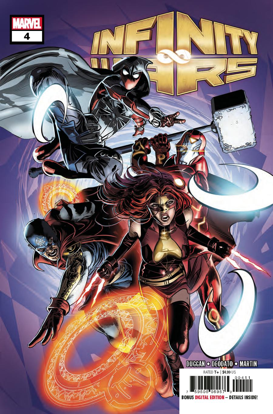 Infinity Wars #4 Cover A Regular Mike Deodato Jr Cover