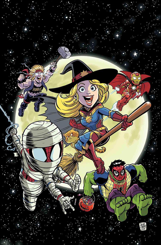 Marvel Super Hero Adventures Captain Marvel Halloween Spooktacular #1
