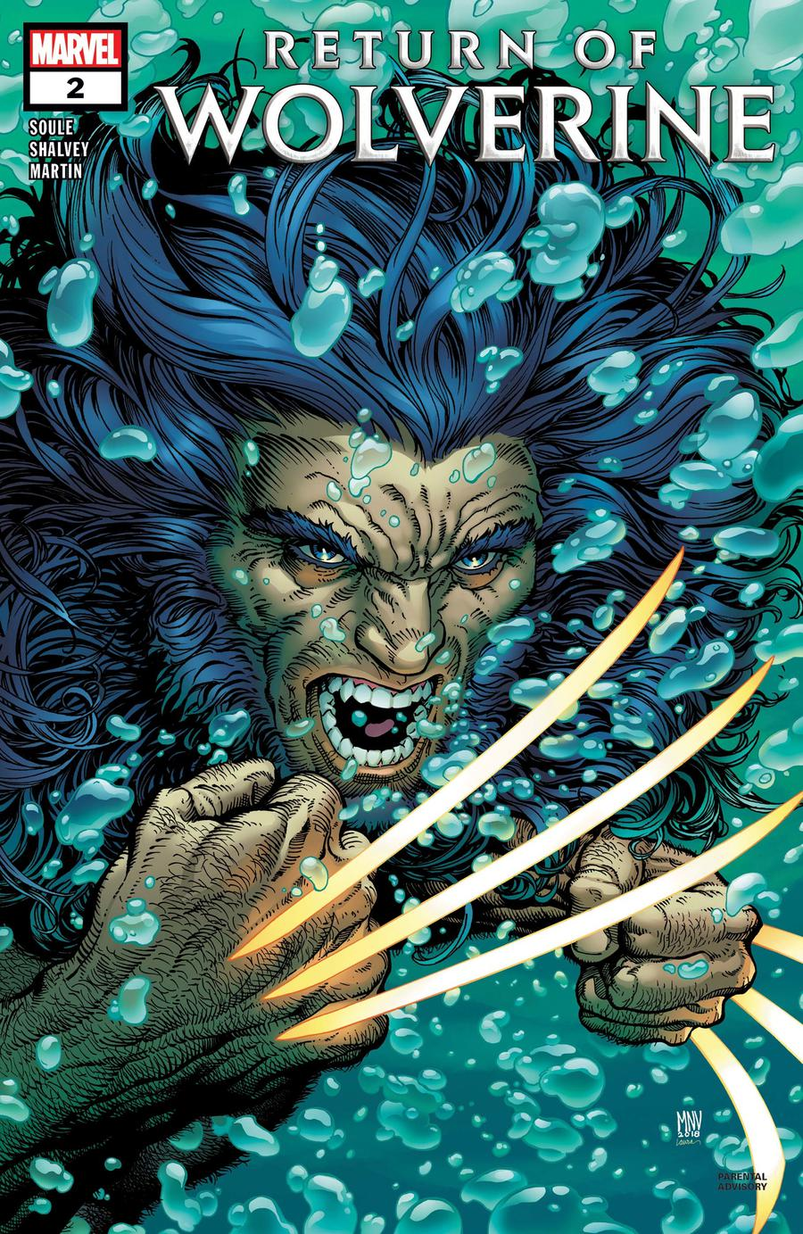 Return Of Wolverine #2 Cover A 1st Ptg Regular Steve McNiven Cover