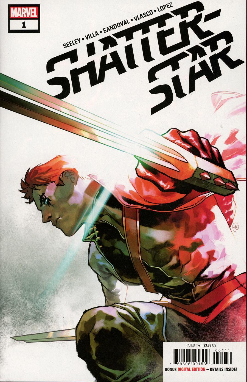 Shatterstar #1 Cover A Regular Yasmine Putri Cover