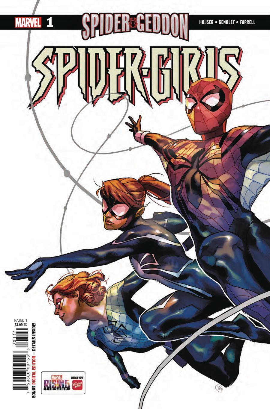 Spider-Girls #1 Cover A Regular Yasmine Putri Cover (Spider-Geddon Tie-In)