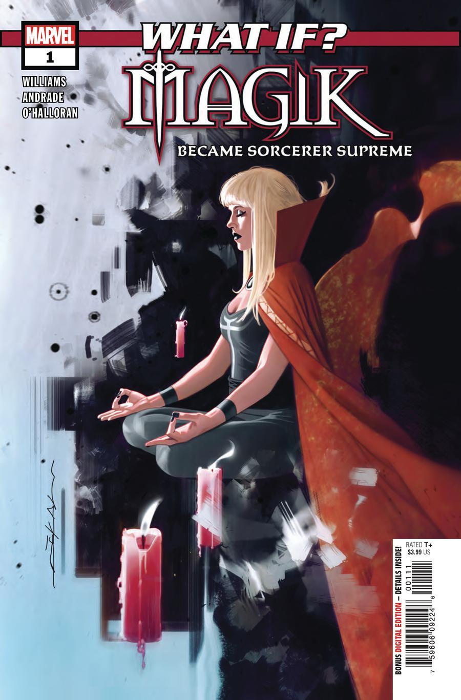 What If Magik #1 Cover A Regular Jeff Dekal Cover