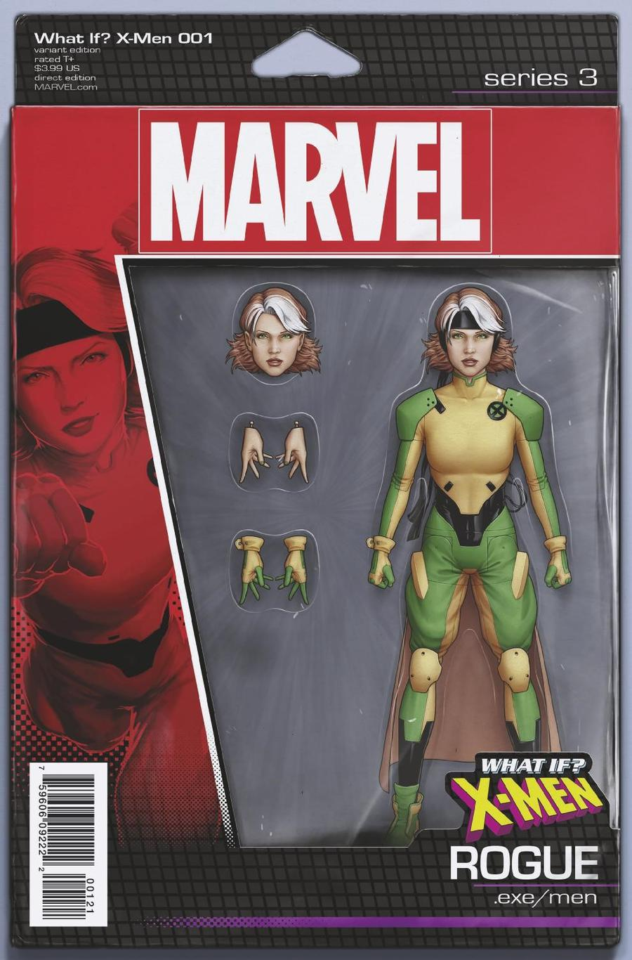 What If X-Men #1 Cover B Variant John Tyler Christopher Action Figure Cover