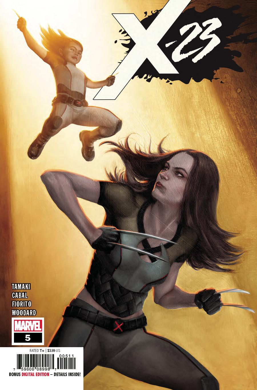 X-23 Vol 3 #5 Cover A Regular Mike Choi Cover