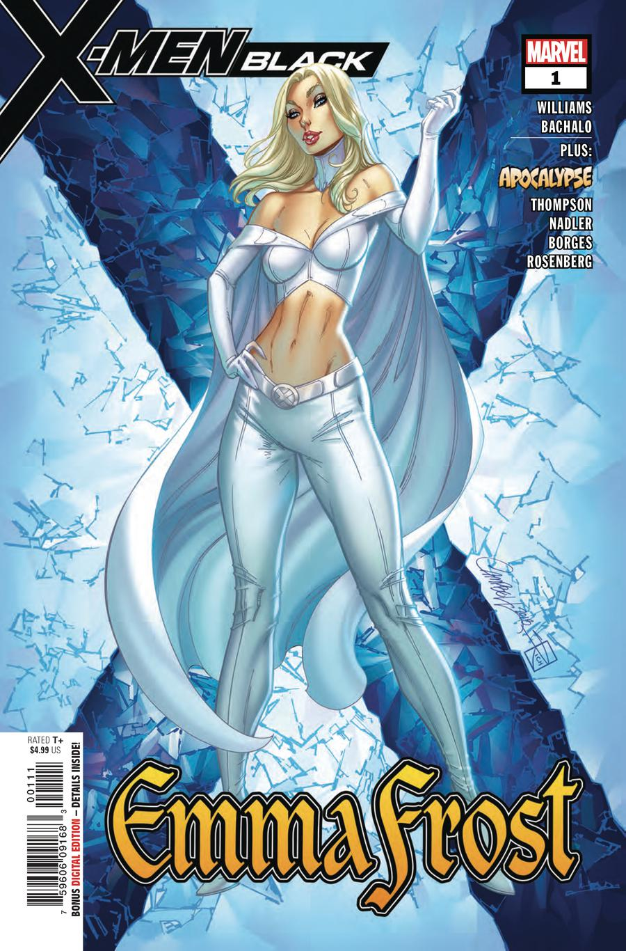 X-Men Black Emma Frost #1 Cover A Regular J Scott Campbell Cover