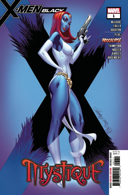 X-Men Black Mystique #1 Cover A 1st Ptg Regular J Scott Campbell Cover