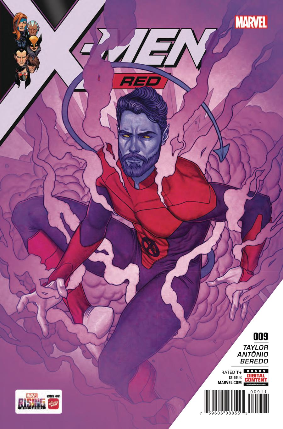 X-Men Red #9 Cover A Regular Jenny Frison Cover