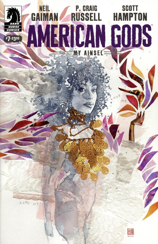 American Gods My Ainsel #7 Cover B Variant David Mack Cover