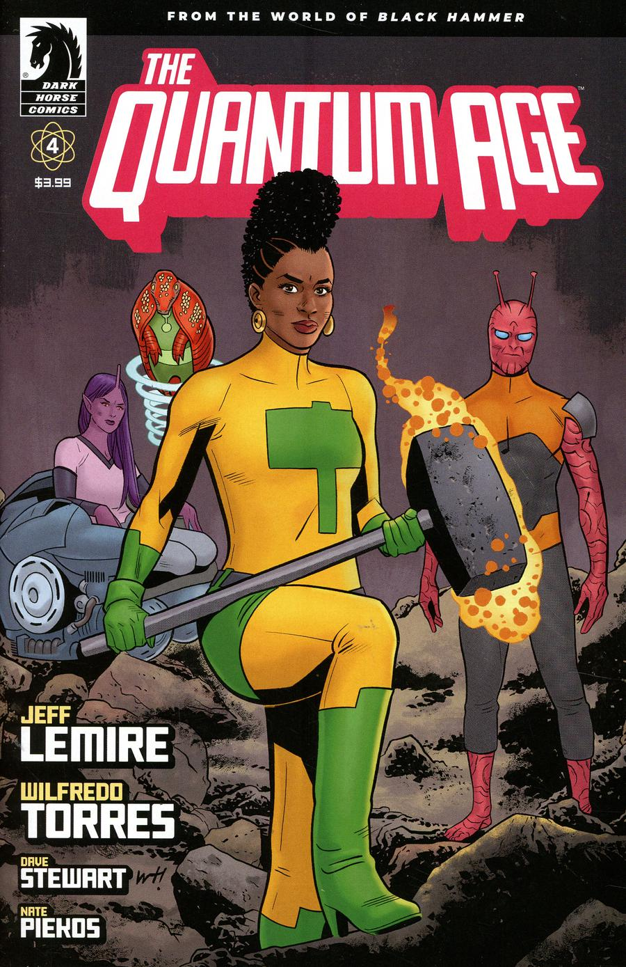 Quantum Age From The World Of Black Hammer #4 Cover A Regular Wilfredo Torres Cover