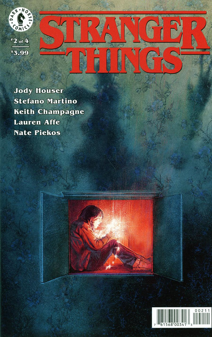 Stranger Things #2 Cover A Regular Aleksi Briclot Cover
