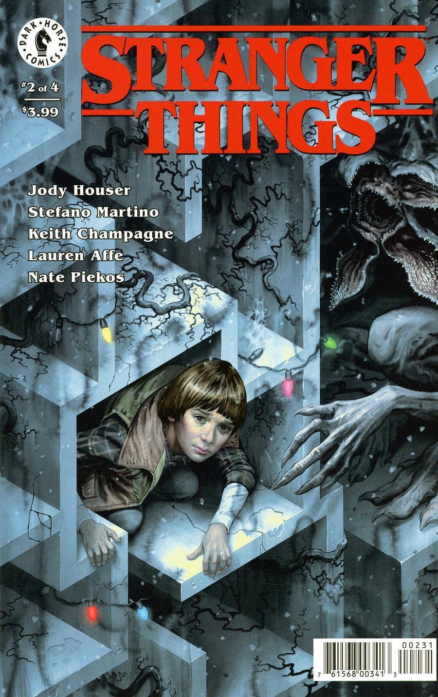 Stranger Things #2 Cover C Variant Steve Morris Cover