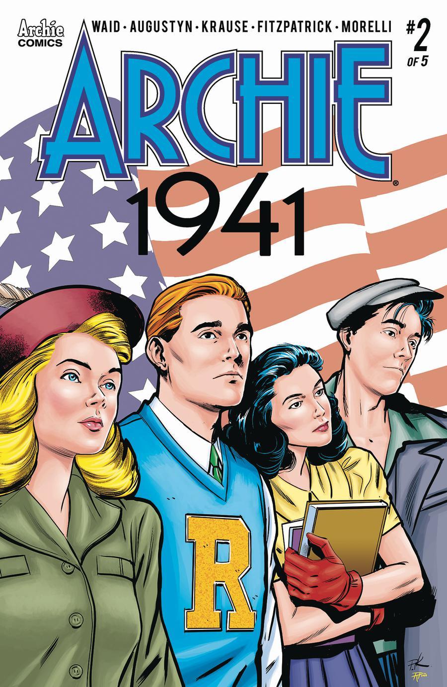 Archie 1941 #2 Cover A Regular Peter Krause & Rosario Tito Pena Cover