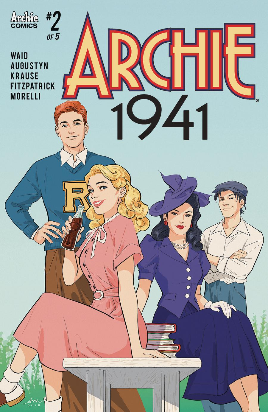 Archie 1941 #2 Cover B Variant Audrey Mok Cover