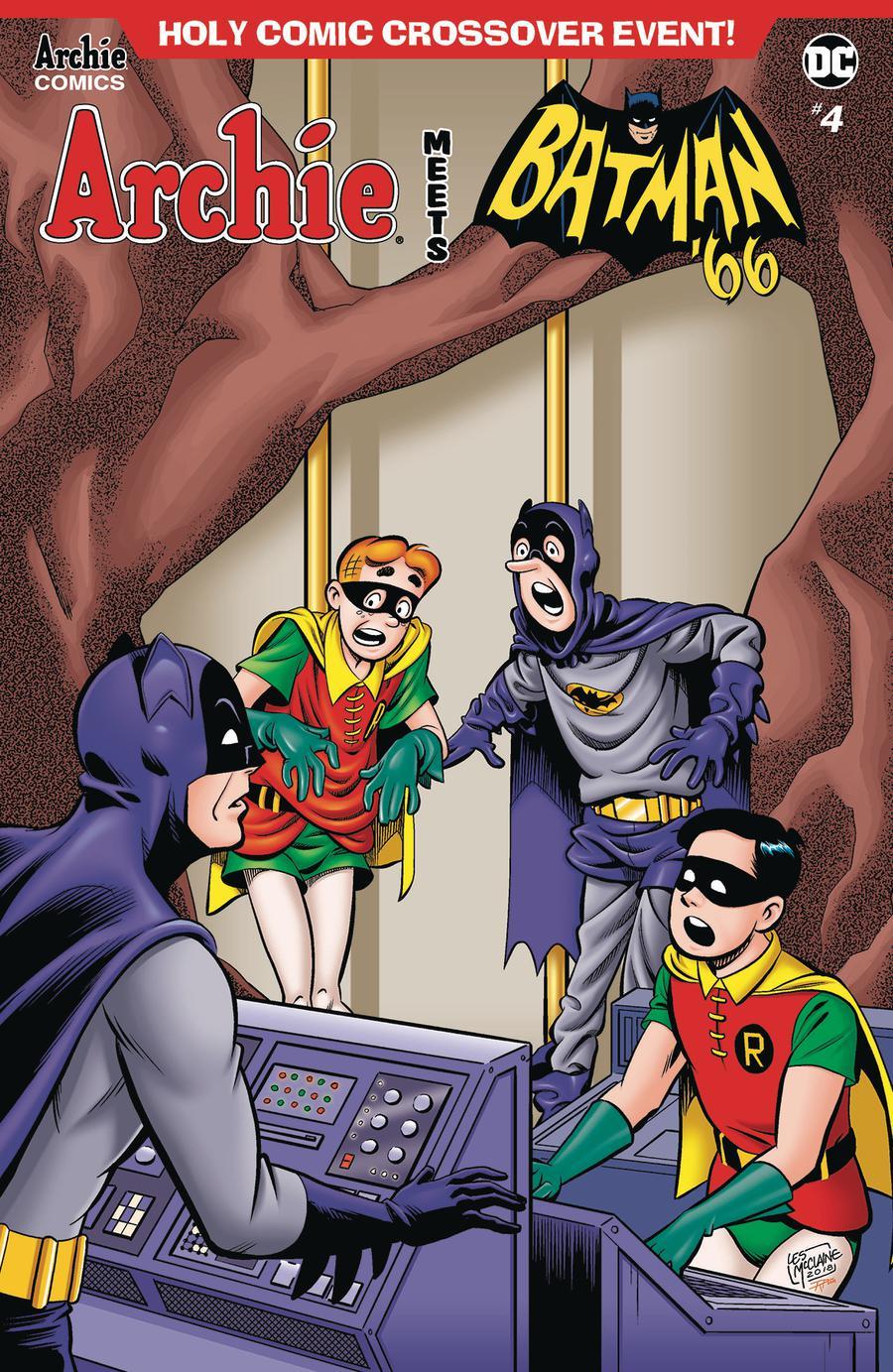 Archie Meets Batman 66 #4 Cover C Variant Les McClaine & Rosario Tito Pena Cover