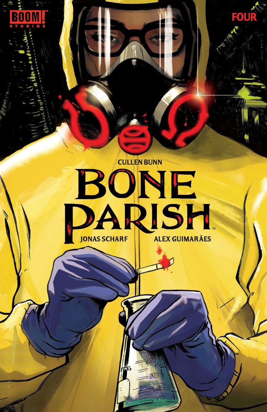 Bone Parish #4 Cover A Regular Lee Garbett Cover